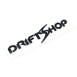 DriftShop Classic Black Sticker