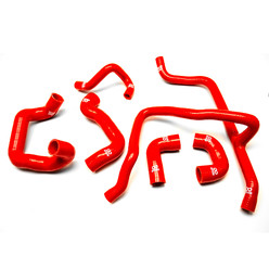 6 Piece Silicone Hose Kit for BMW E30 6 Cyl. 2nd Gen
