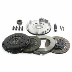 DKM Stage 4 Uprated Twin Clutch + Flywheel Kit for BMW 525i, 525ix E34 (88-95)