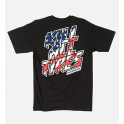 Hoonigan Kill All Tires T-Shirt - Black