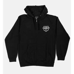 Hoonigan Bracket X Zipped Hoodie - Black