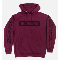 Hoonigan Kill All Tires - Bordeau Hoodie
