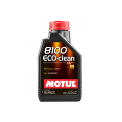 Motul 8100 Eco-Clean 0W20 Engine Oil (Alfa Romeo, Fiat, Mercedes) 1L