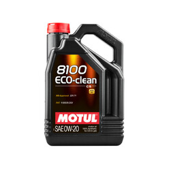 Motul 8100 Eco-Clean 0W20 LL-14 FE+ Engine Oil (BMW, Mini, Alfa Romeo, Fiat, Mercedes) 5L