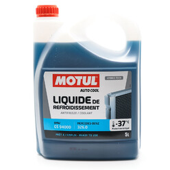 Motul GS Engine Coolant 94000 MB 326.0 -37°C (BMW, Mercedes) 5L