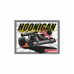 Hoonigan Coming In Hot Sticker