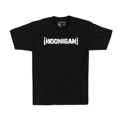 Hoonigan Glitch Bracket T-Shirt - Black