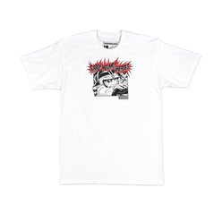 Hoonigan Crash Helmet T-Shirt - White