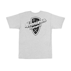 Hoonigan Kat Shield T-Shirt - Grey