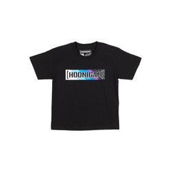 Hoonigan HRD19 Censor Bar Kids T-Shirt - Black