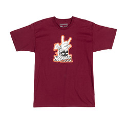 Hoonigan Horns For Hooning T-Shirt - Burgundy