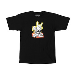Hoonigan Horns For Hooning T-Shirt - Black