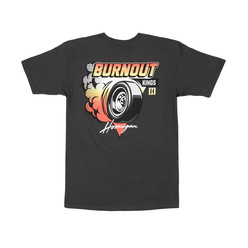 Hoonigan Burnout Kings T-Shirt - Anthracite