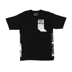 Hoonigan Kill All Tires Warp T-Shirt - Black