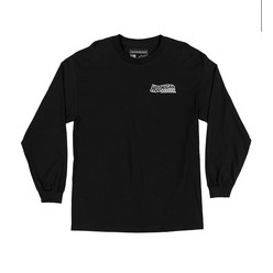 Hoonigan Horns For Hooning T-Shirt - Black (Long Sleeves)