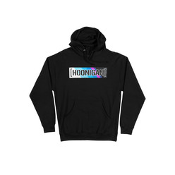 Hoonigan HRD19 Censor Bar Kids Hoodie - Black