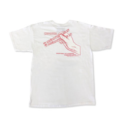 Hoonigan Chop Sticks T-Shirt - White