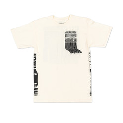 Hoonigan Kill All Tires Warp T-Shirt - Cream