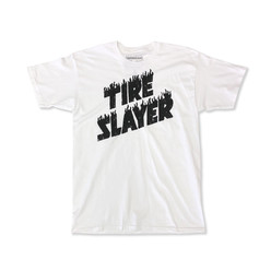 Hoonigan Tire Slayer T-Shirt - White