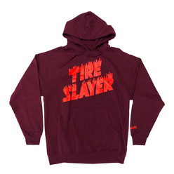 Hoonigan Tire Slayer Hoodie - Burgundy