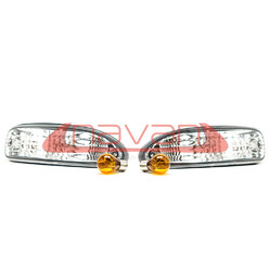 Navan Crystal Front Blinkers for Nissan 200SX S13 (late spec)