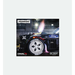 Hoonigan Detroit Unicorn Sticker