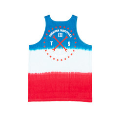 Hoonigan Greatful Shred Tank - Blue & Red