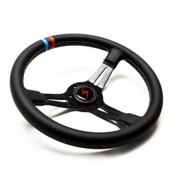"DriftShop Steering Wheel (70 mm Dish), ""M Power V2"" Edition"