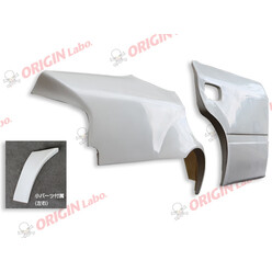 Origin Labo +75mm Rear Fenders for Toyota Chaser JZX100 (with door add-ons)