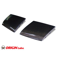 Origin Labo Headlight Carbon Covers for Nissan 200SX S13