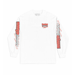 Hoonigan Speedway Long Sleeves T-Shirt - White