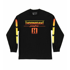 Hoonigan Thrust Long Sleeves T-Shirt - Black