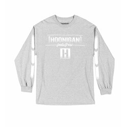 Hoonigan Thrust Long Sleeves T-Shirt - Heather Grey