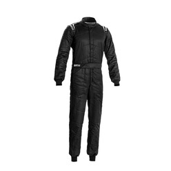 Sparco Sprint Racing Suit, Black