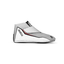 Sparco Prime T Racing Shoes, White (FIA)