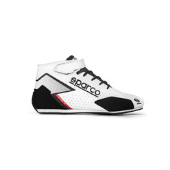 Sparco Prime R Racing Shoes, White (FIA)