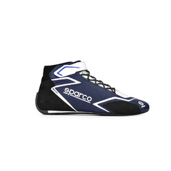 Sparco Skid Racing Shoes, Black & Navy (FIA)
