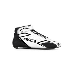 Sparco Skid Racing Shoes, White (FIA)