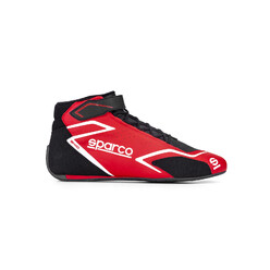 Sparco Skid Racing Shoes, Red (FIA)
