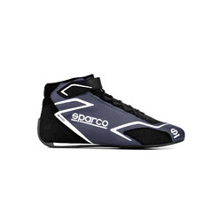 Sparco Skid Racing Shoes, Grey & Black (FIA)