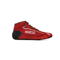 Sparco Slalom+ Racing Shoes, Red (FIA)