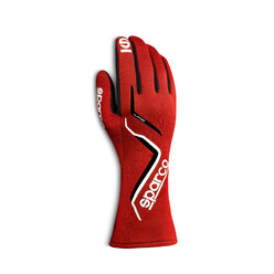 Sparco Land Gloves, Red (FIA)