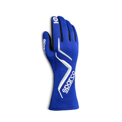 Sparco Land Gloves, Blue (FIA)