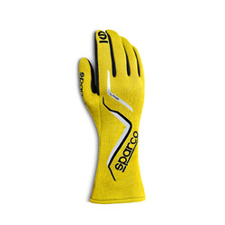 Sparco Land Gloves, Yellow (FIA)