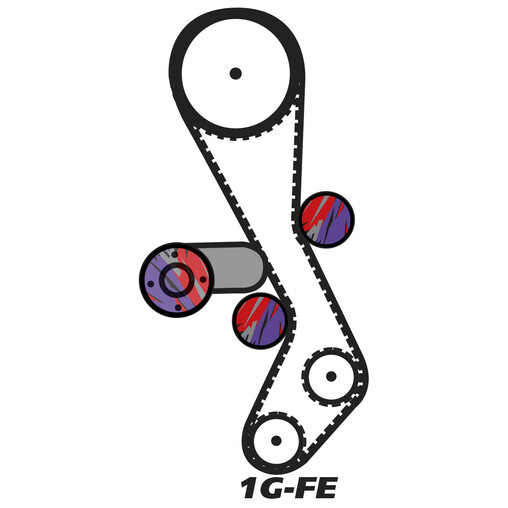 timing belt kits & water pump for lexus 1g-fe engines | in stock,  driftshop.com  driftshop