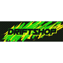 "DriftShop 80's ""Green"" Sticker"
