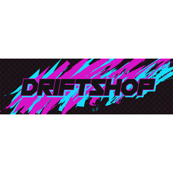 "DriftShop 80's ""Pink"" Sticker"