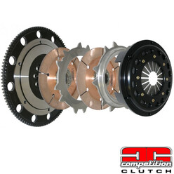 Twin Clutch Kit for Chevrolet LS1, LS2, LS3 Engines - Competition Clutch