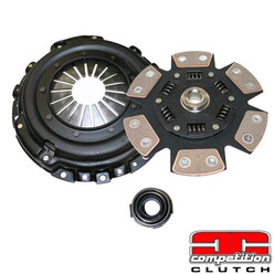 Stage 4 Clutch for Honda CRX EE9, EF9 (B16, 88-91) - Competition Clutch