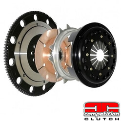 "Stage 5 ""Super Single"" Clutch & Flywheel Kit for Honda CRX Del Sol VTi EG2 (92-98) - Competition Clutch"